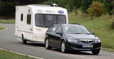 Hos DFDS er det gratis å ta med campingvogn.