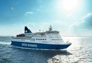 Crown Seaways er en av DFDSs mange skip.