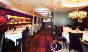 Resturant om bord på Fjordline: Stavangerfjord Grieg Gourmet