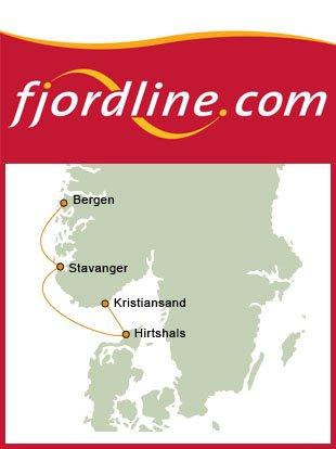 fähre fjordline bergen hirtshals